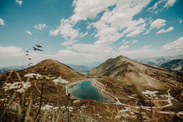 Wanderlust [wɑːn.dɚ.lʌst] – a strong desire to travel ⛰ #visitvorarlberg #wanderlust #traveltheworld Kanzelwand/Fellhorn