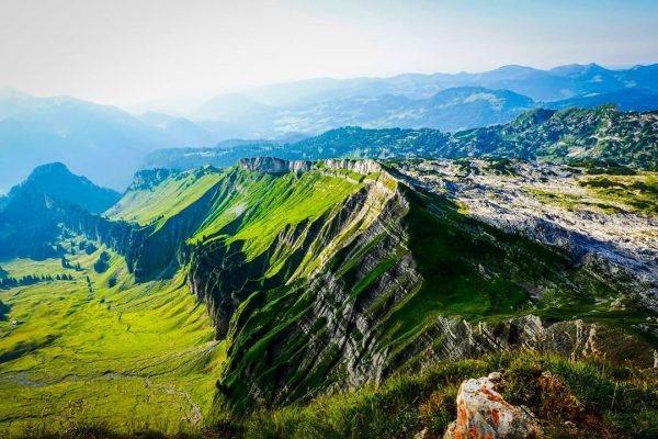 Blick vom Ifen #alpen #alps #mountain #hiking #wandern #wanderlust #hike #berg #ifen #gipfel #kleinwalsertal #austria #österreich #voralberg...