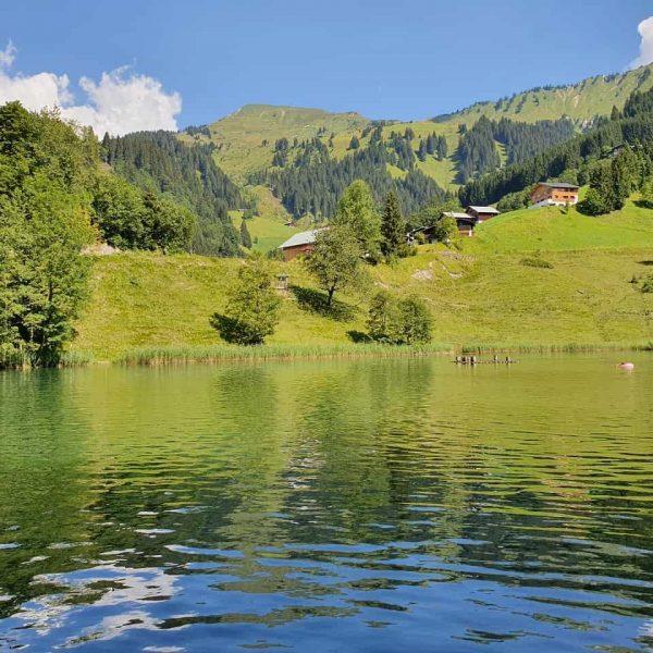 #damüls #seewaldsee #voralberg #badesee Damüls