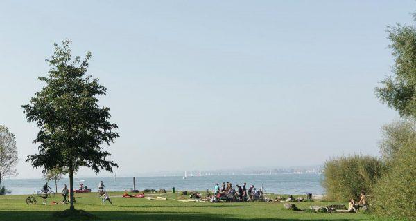 Gemeinsam am See ⛱ Aufgrund der Urlaubszeit und des schönen Wetters sind die ...
