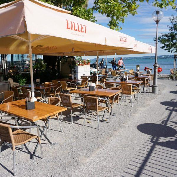 Endlich Wochenende! Unsere Empfehlung: Samstags- oder Sonntagsbrunch mit Livemusik und Blick auf den See 😍 Wer ist...