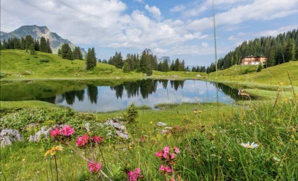 Verbinden Sie Ihren Wellness-Urlaub mit einer schönen Wanderung durch die atemberaubende Natur im ...