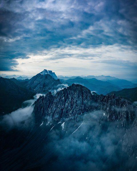 To see farther you must climb higher! Je höher ich auf einen Berg ...