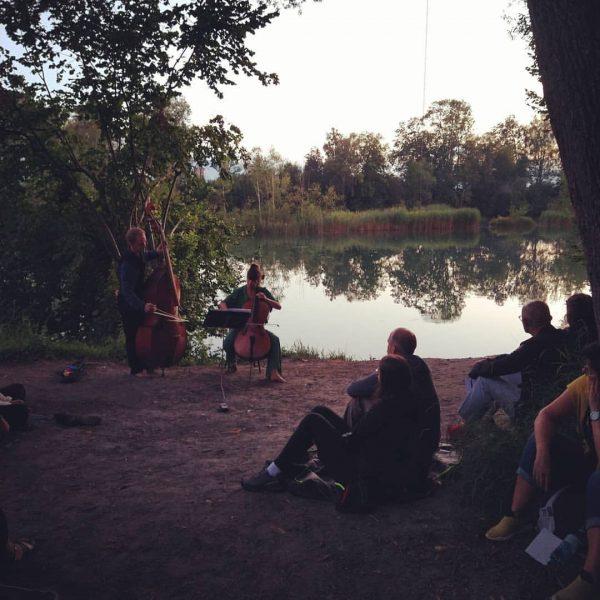 yet another very special one. #vorarlbergerkulturpicknick #bodenseevorarlberg Lustenauer Ried