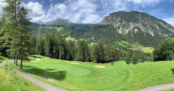 ☀️☀️☀️☀️ #golf #alpingolf #brandnertal #⛳️ Golf Club Brand - Golfpark mit 18 Spielbahnen