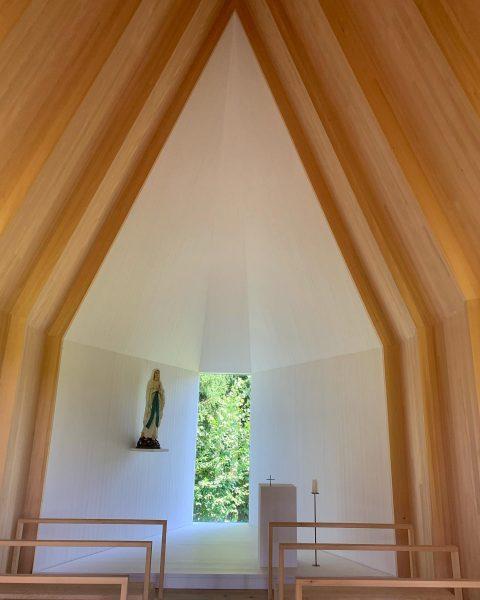 ....auch innen traumhaft! #salgenreute #kapelle #bernardobader #architecture #architektur #raumkontorunterwegs