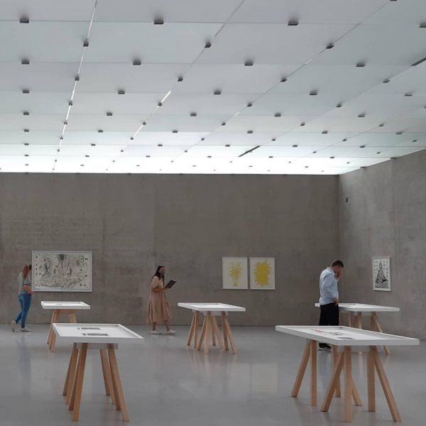 Already seen? New works by Ania Soliman on the first floor! #kunsthausbregenz #unvergesslichezeit