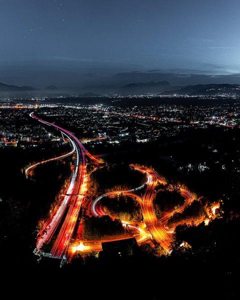 🇦🇹 Vorarlberg . . . #vorarlberg #austria #bregenz #visitvorarlberg #visitaustria #gebhardsberg #highway #autobahn ...
