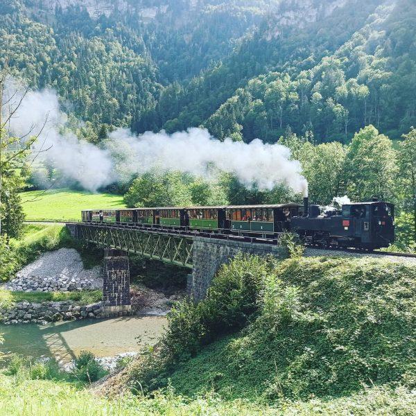 #wälderbähnle #zug #train #vorarlberg
