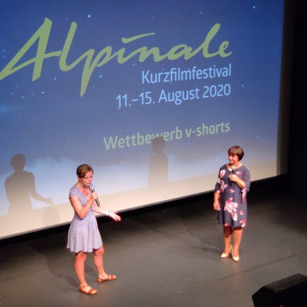Erster v-shorts Abend in der @remisebludenz beim @alpinale_kurzfilmfestival Alpinale Kurzfilmfestival