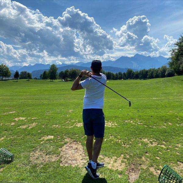 Practicar, practicar y practicar #golf #treining Golfclub Montfort Rankweil