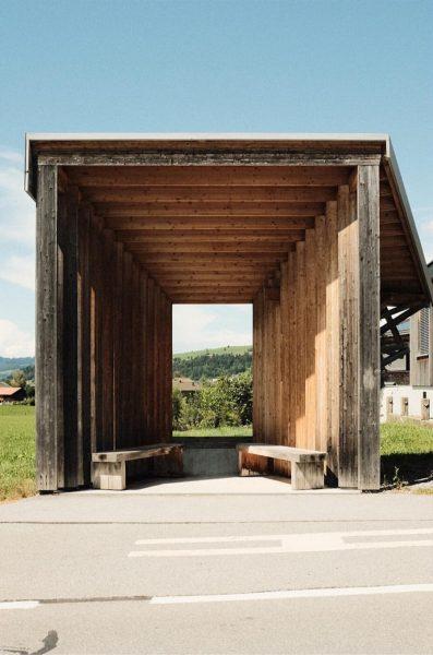 quattrostationin' . . . . . #architectour #busstation #sommerfrische #krumbach #2020 #potd #fujifilm ...