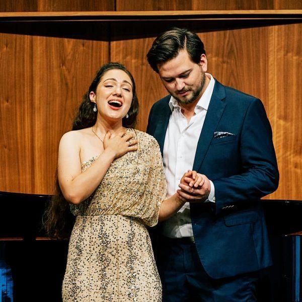 @anna.elkhashem und @johanneskammler waren gestern im Rahmen von Musik & Poesie: Die Liebe ...