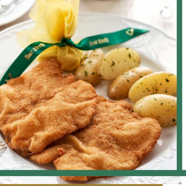 "For me one ""Schnitzel"" please 👋🏻 . Viennese escalope - enjoy typical Austrian ..."