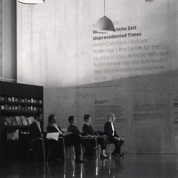 KONZERT IM KUB #bregenzerfesttage #thepresent #unprecedentedtimes #kunsthausbregenz