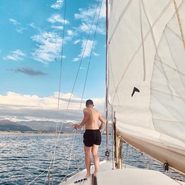 Heimat genießen 😊 #sailing #bodensee #bodenseeliebe #indieferneschauen #lakeofconstance #martinfromaustria Bodensee