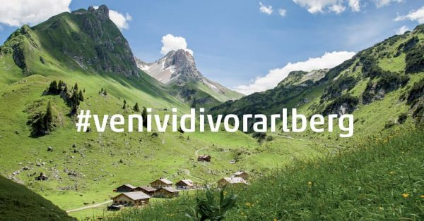 From zero to +5,600! Within only a few weeks our hashtag #venividivorarlberg catapulted ...