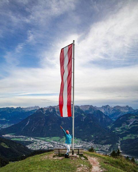 Erster Gipfel Dieses Jahr Hoher Frassen Explore Vorarlberg