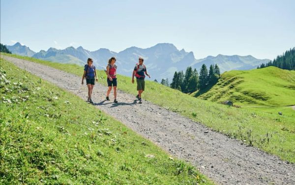 Wandern beim Stoggersattel in Au🤘 Was ist eure Lieblingswanderstrecke im Bregenzerwald?🤔 Schreib es ...