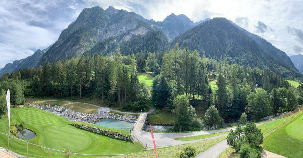 die Ruhe vor dem Sturm ⛅️ #alpingolf #brandnertal #18holes #golf #mountains #⛅️ Golf ...
