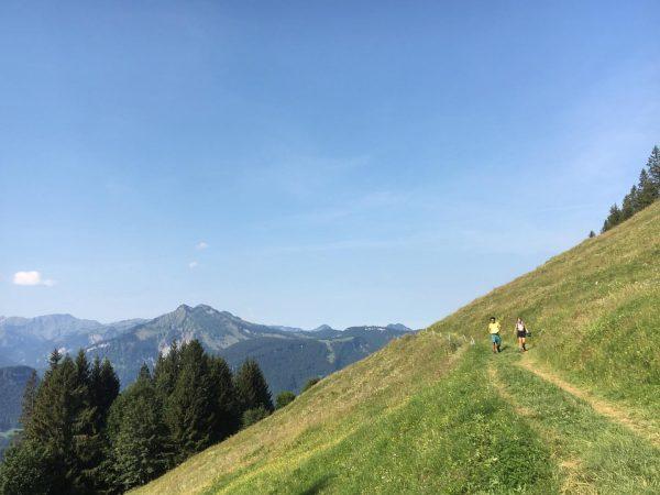 Vom Sonderdach nach Schönenbach 🌾👣 #wandern #berge #österreich #urlaubdahoam #urlaubinvorarlberg #österreichurlaub #bezau #bregenzerwald ...