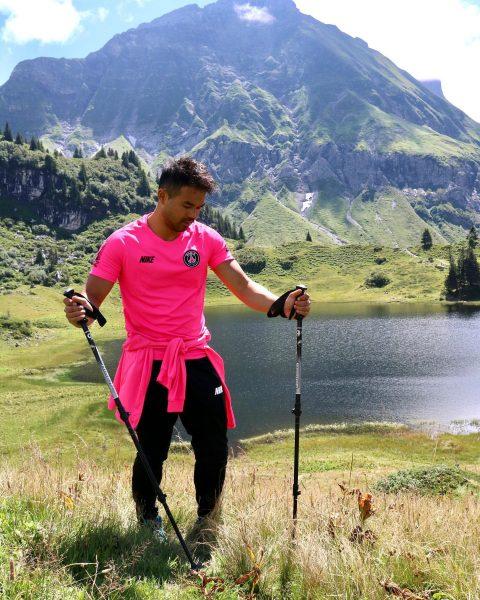 Bergliebe 💕🦩🏞 ______________________________________________________________ #hiking #körbersee #vorarlberg #wandern #berg #natur #liebe #mountains #love #österreich ...