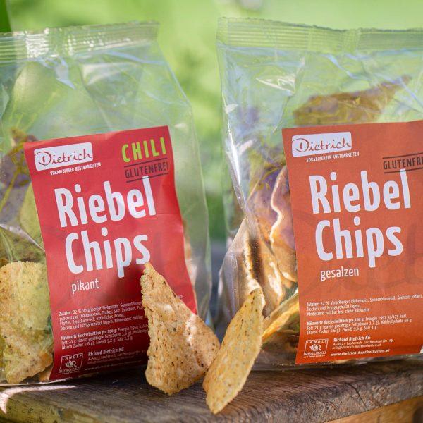 Unsere neuen Riebel-Chips sind da! Zwei Geschmacksrichtungen für das regionale Genusserlebnis. Nachhaltig aus ...