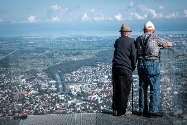 Gemeinsam über den Dächern von Dornbirn den Sommer genießen. Wo geht das besser als auf dem Karren?...