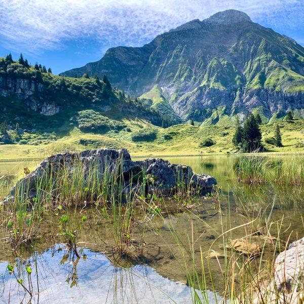 ~Körbersee~ #vorarlbergwandern #hiking #autriamountains #austrianmoments #wandern #körbersee #binindenbergen #mountains Körbersee