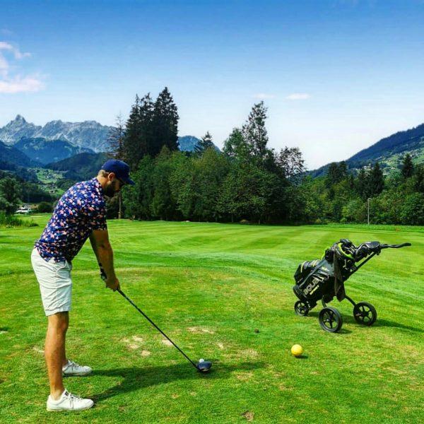 Golfplatz Montafon - schöner 9 Loch Platz, komplett ohne Steigung und das inmitten ...