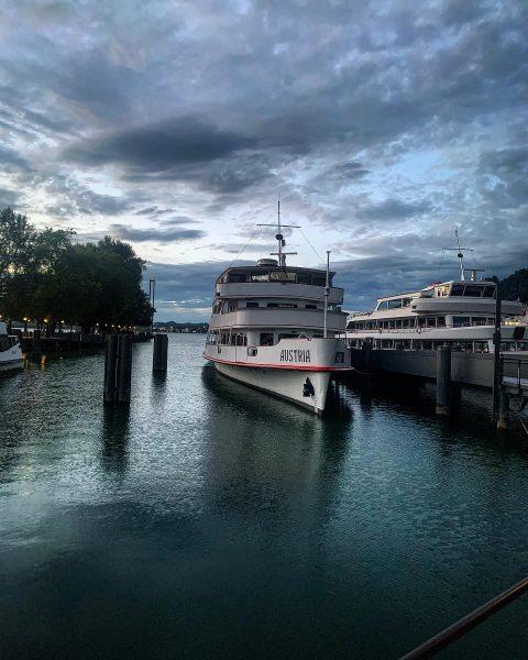 7️⃣3️⃣ #austria #bregenz #travel #traveleurope #europetraveller Hafen Bregenz