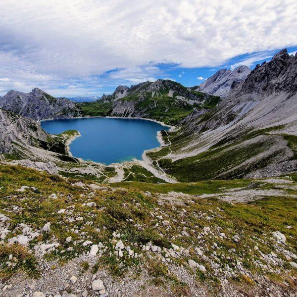 Ganz schön hier im Montafon beim Wandern und Biken 😊 #montafon #lünersee #verwall ...
