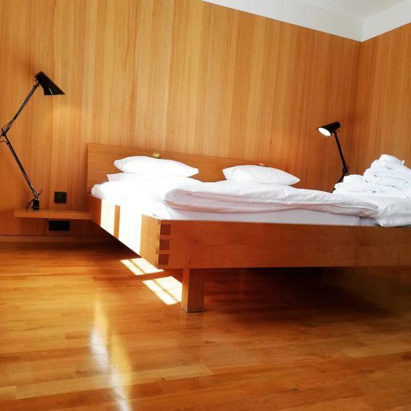 In diesen Betten dreht man sich liebend gerne noch einmal um, bevor man ...