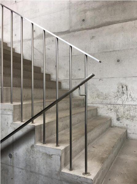 Im Ländle... #frauenmuseum #hittisau #bregenzerwald #staircase #beton #cukrowicznachbaur Hittisau