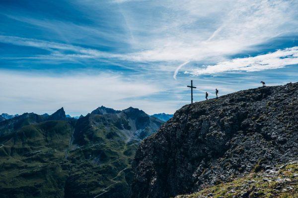 Wanderliebe. Diese Weitsicht und die angenehmen Temperaturen im Herbst 💚 #auroralech #bergefürdieseele #lifeisbetterinthemountains ...
