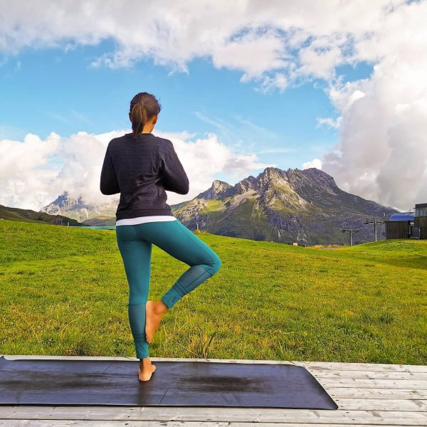 (AD /press trip) Mountain top yoga with @marilenawalch practiced at 1500 feet above sea level. It is...