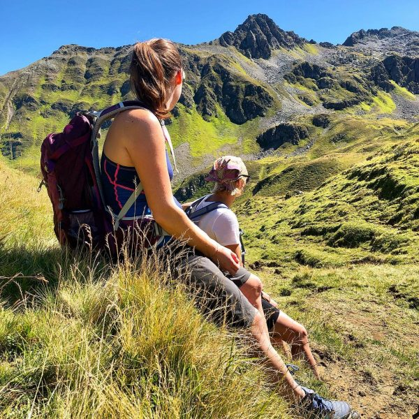 Unterwegs in luftigen Höhen 💕🏔 die Stille auf über 2000 Meter über dem ...