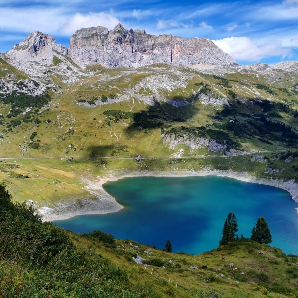 Formarinsee: Caribbean in the alps. Awarded as one of the most beautiful places ...