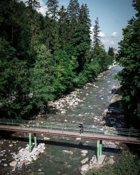 Perfektes Wanderwetter oder doch noch die letzte Runde im Waldbad Enz drehen? ⛰ #6850dornbirn #dornbirn #vorarlberg #visitvorarlberg...