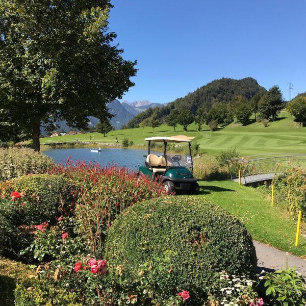 Und wieder schöns wetter zum golfe!🏌️♀️🏌️♀️🌞 Golfclub Bludenz-Braz