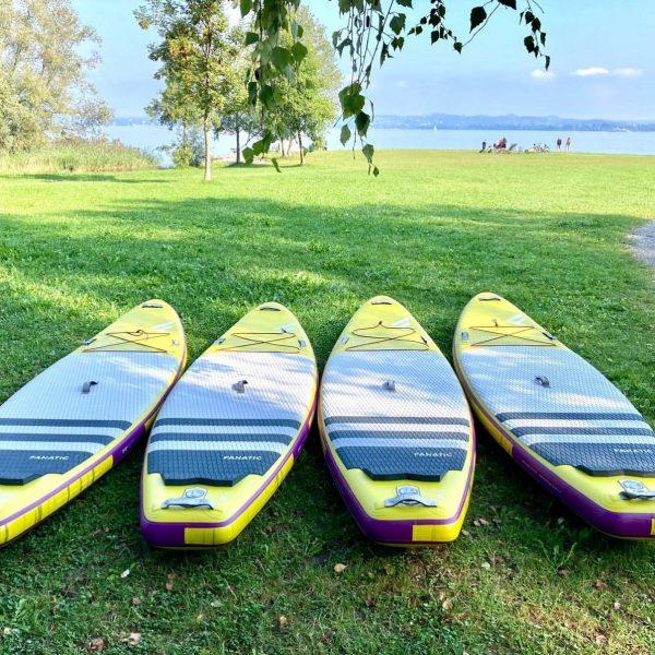 Hol dir ein neues SUP bei uns und genieße die letzten heißen Sommertage ...