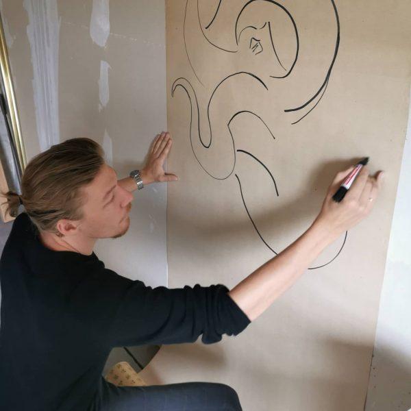 Freu mich auf die Ausstellung gemeinsam mit Amrei Wittwer @tafelbilder 🎨🐙 3.10. Vernissage!! ...