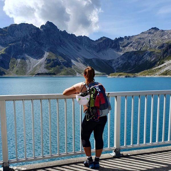 Mein Herz steckt voller Abenteuerlust ❤️ #lünersee #saulakopf #saulakopfklettersteig #2517m #saulakopf2517m #wanderlust #hängeleiter ...
