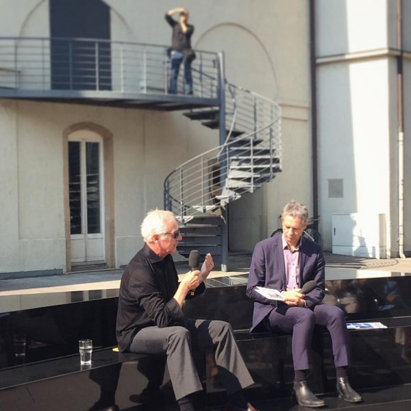 Artist talk with Peter Fischli and Thomas D. Trummer – perfect start for the exhibition. KUB opening...