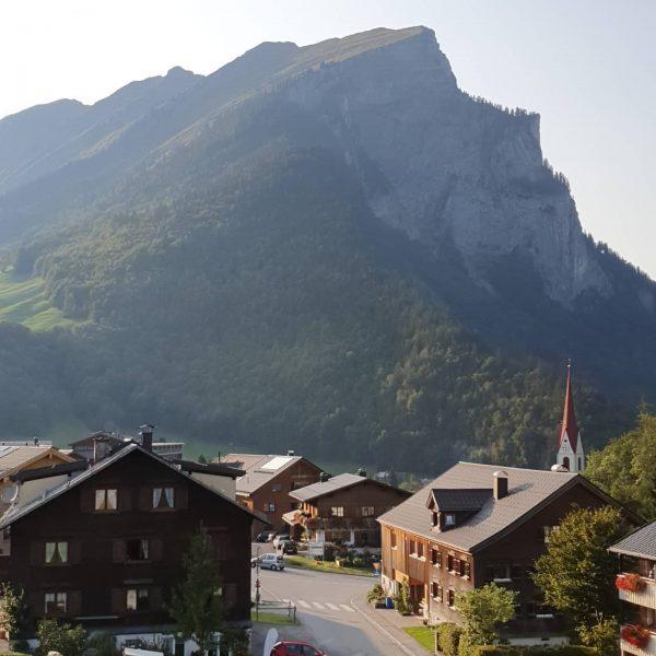 #mountains #bregenzerwald #au #view #nature Alpen Hotel Post