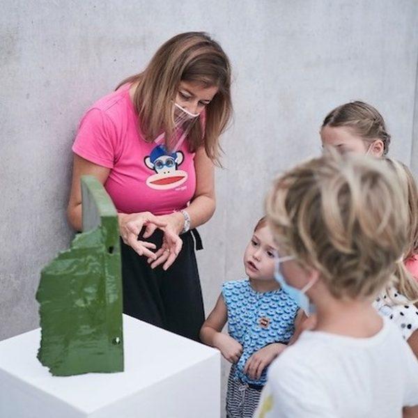 Saturdays, Kinderkunst! 10 am – 12 pm Photos: Miro Kuzmanovic Kunsthaus Bregenz