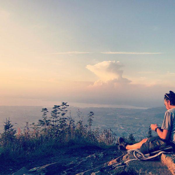 Der Sinn des Reisens ist es, an ein Ziel zu kommen,der Sinn des ...