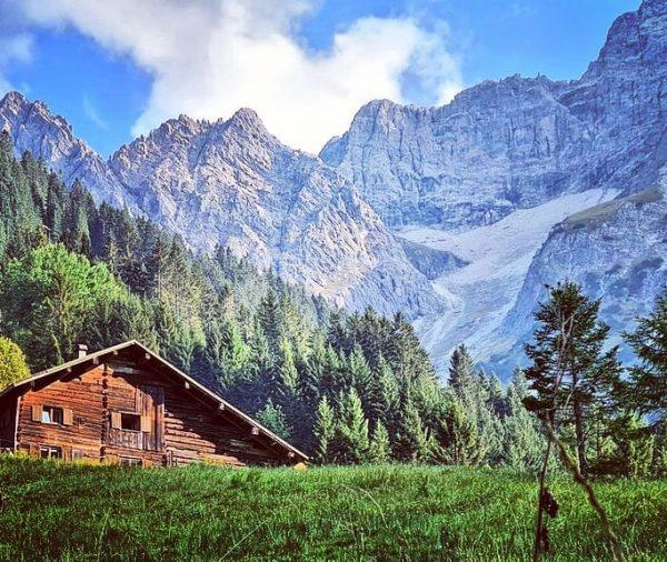 Bärgunttal met #Widderstein #Kleinwalsertal #Oostenrijk #berge #alpen #Österreich #september #mountains Baad, Vorarlberg, Austria