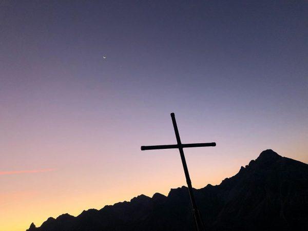 Kurz nach 6 Uhr morgens auf der Mindelheimer Hütte ❤️ solch ein Moment ...