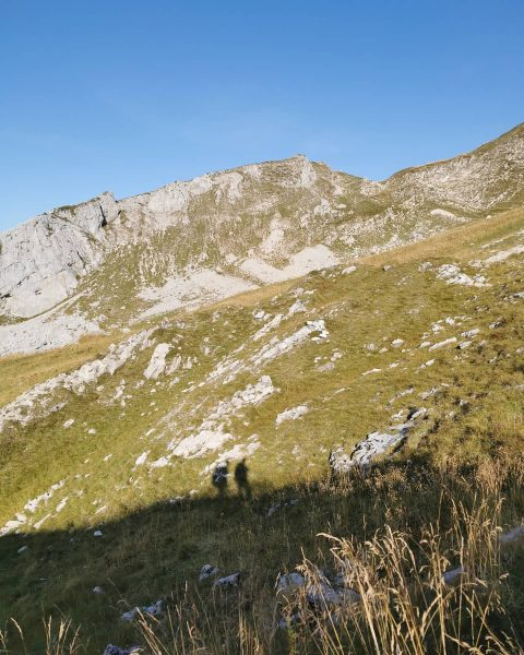 #day7 from #biberacherhütte back to #Au via #schoppernau #bregenzerwald #hiking #shadowselfie Vorarlberg